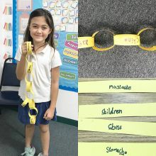 Teach Phonogram CH by making paper CHains!