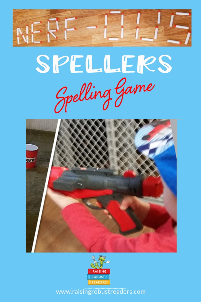 Raising Robust Readers Spelling Game